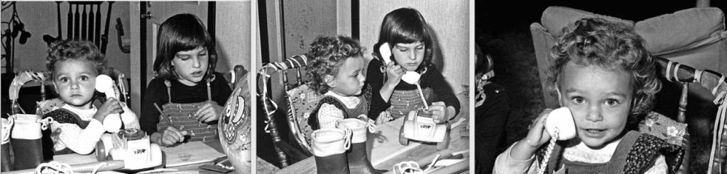 Nora en Lisa eerste bedrijf 1980