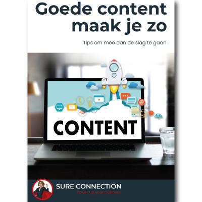 Content maak je zo - gratis Sure Connection